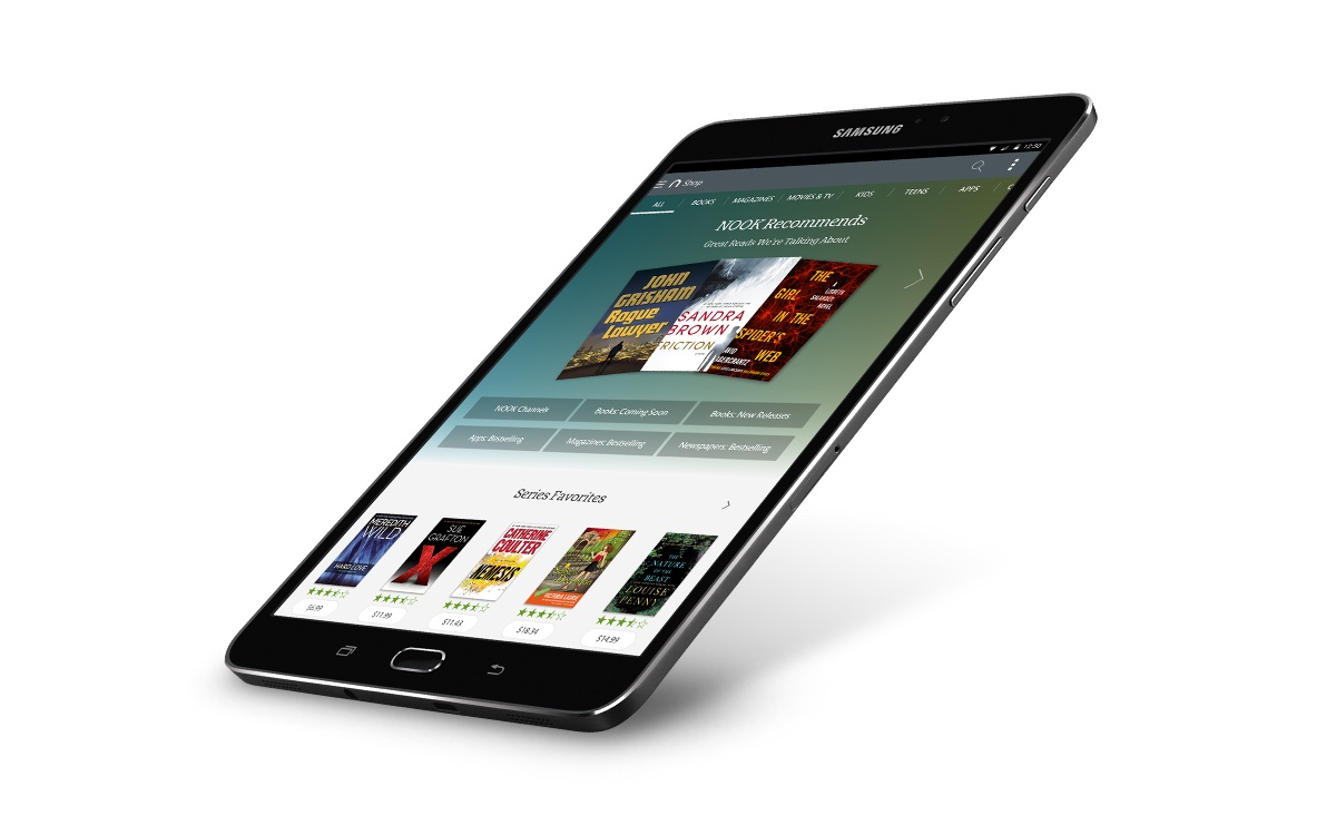 The latest Nook is based on Samsung's Galaxy Tab S2
