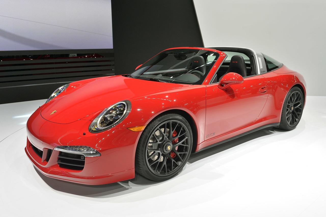 Debüt in Detroit: Porsche 911 Targa 4 GTS