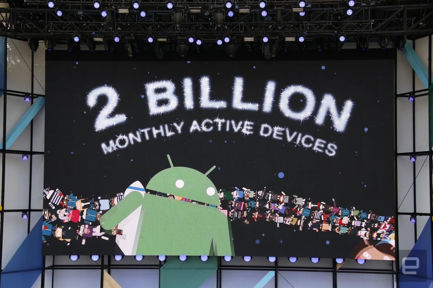 Android reaches 2 billion