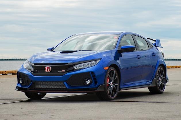 ホンダ、米国仕様「シビック TYPE R」量産1号車をチャリティーオークションに出品