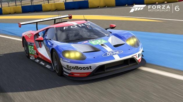 ル・マン24時間レースを前に、『Forza Motorsport 6』が「フォード GT LM」を無料配信!