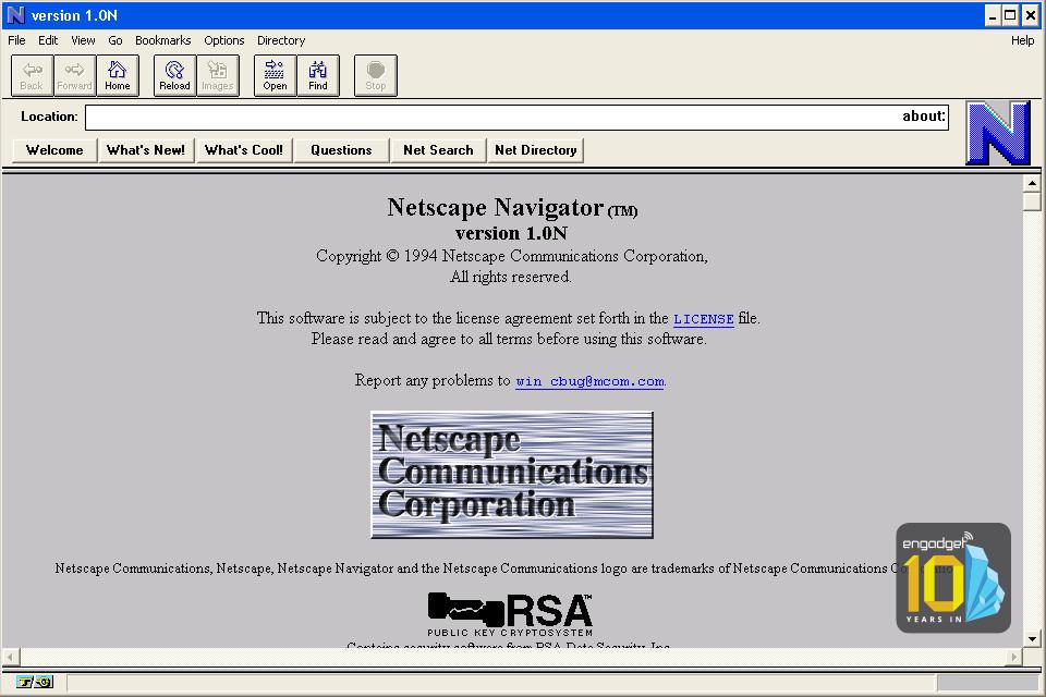 Bild zu «Was passierte eigentlich mit Netscape»