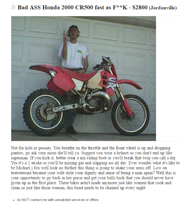 This Is The Only Way To Sell A Motorcycle