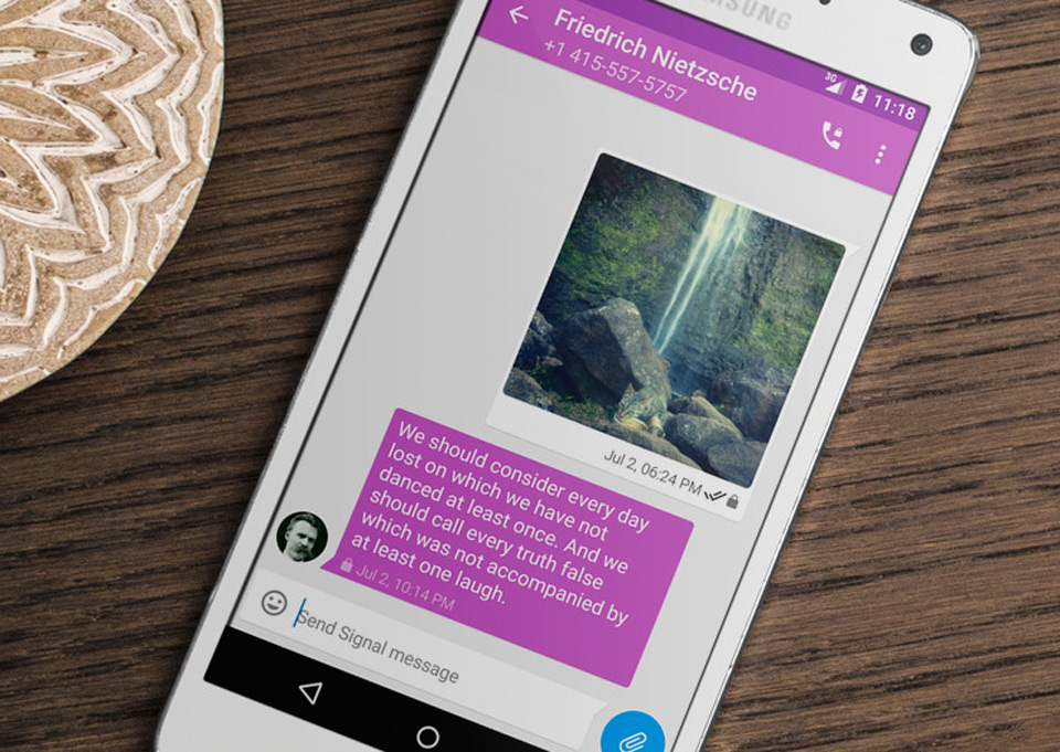 Snowden's favorite secure chat services unite in one Android app