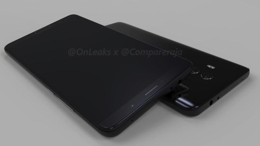 So könnte das Huawei Mate 10 aussehen