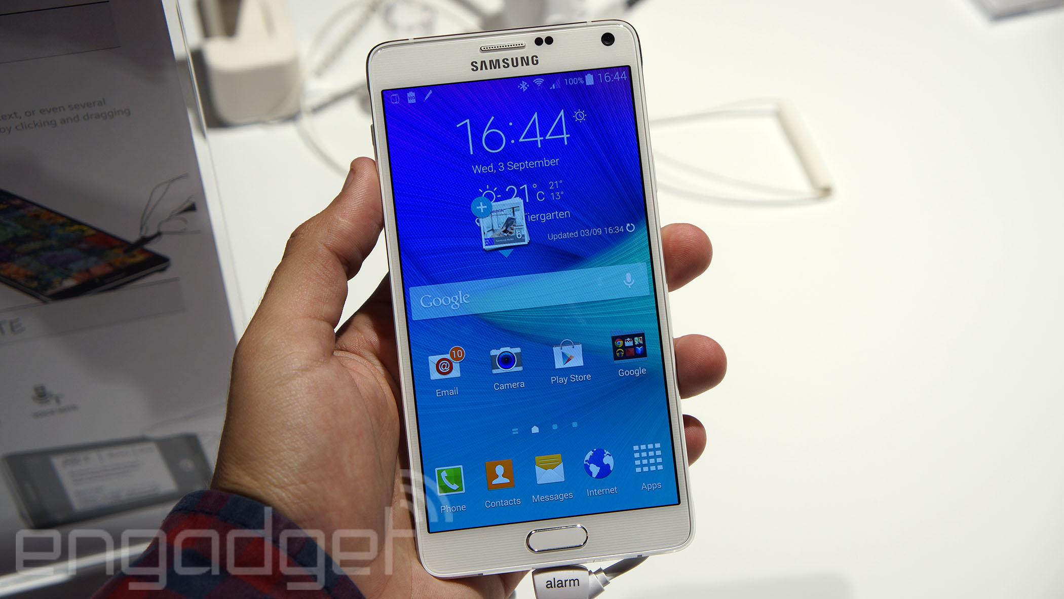 Samsung Galaxy Note 4 ya tiene fecha y precio en España