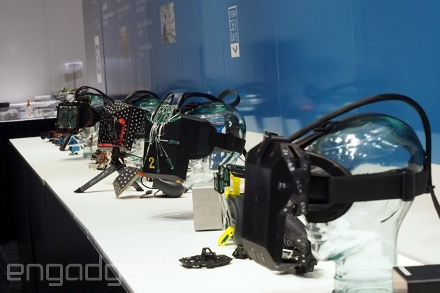 Valve's VR headset prototypes at GDC 2015