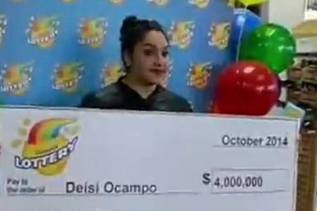 Teenager wins $4 million on lottery on her 19th birthday