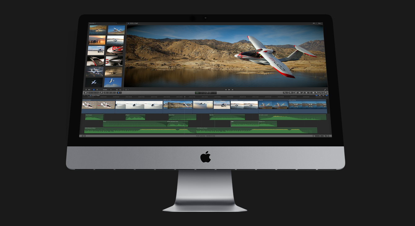 Final Cut Pro X now handles 4K export to some Apple devices