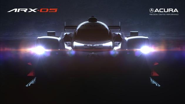 【ビデオ】アキュラ、来年のデイトナ24時間レースに参戦するレーシングカー「ARX-05」をチラ見せ!
