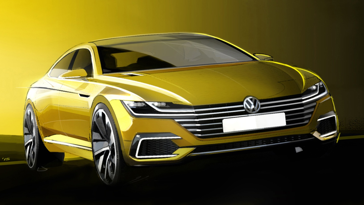 VW Passat CC, VW CC, Volkswagen, VW news, VW CC 2016,, Comfort-Coupé, Auto salon genf, Genfer auto salon