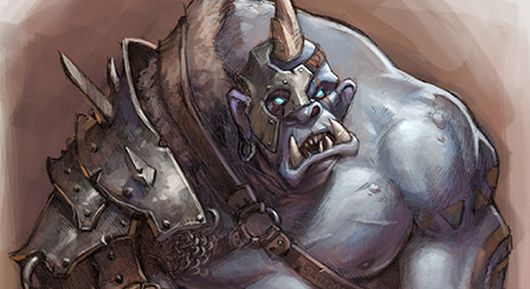 One thing I'll definitely give Blizzard, they do a great job of modeling slope-browed drooling ogres.  I don't know if that is exactly a compliment.