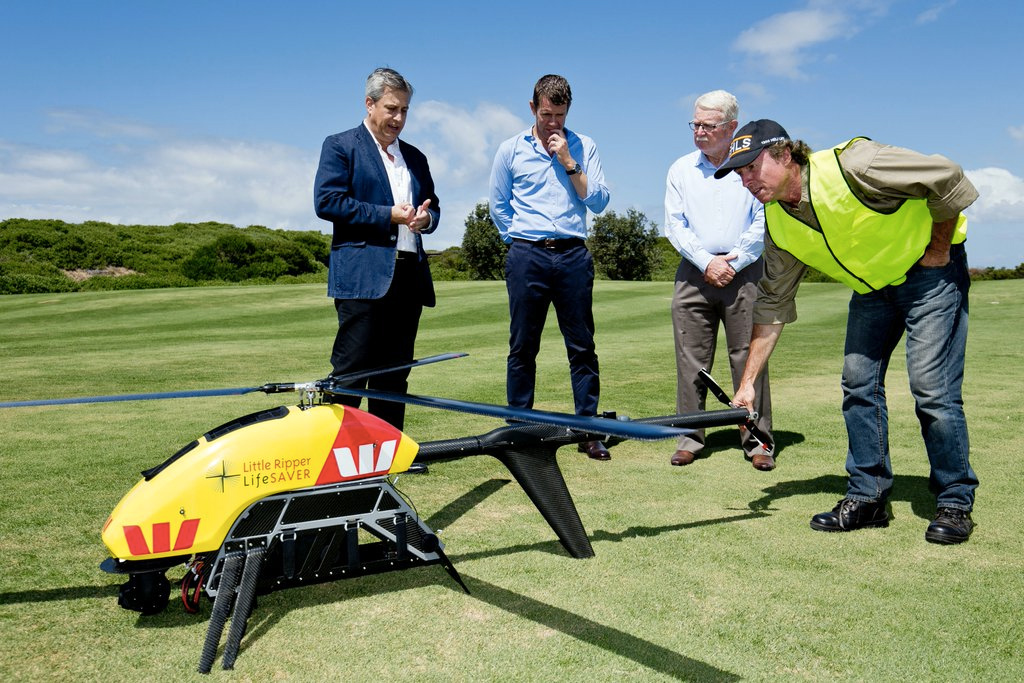 'Little Ripper' drones take flight to find sharks and save lives