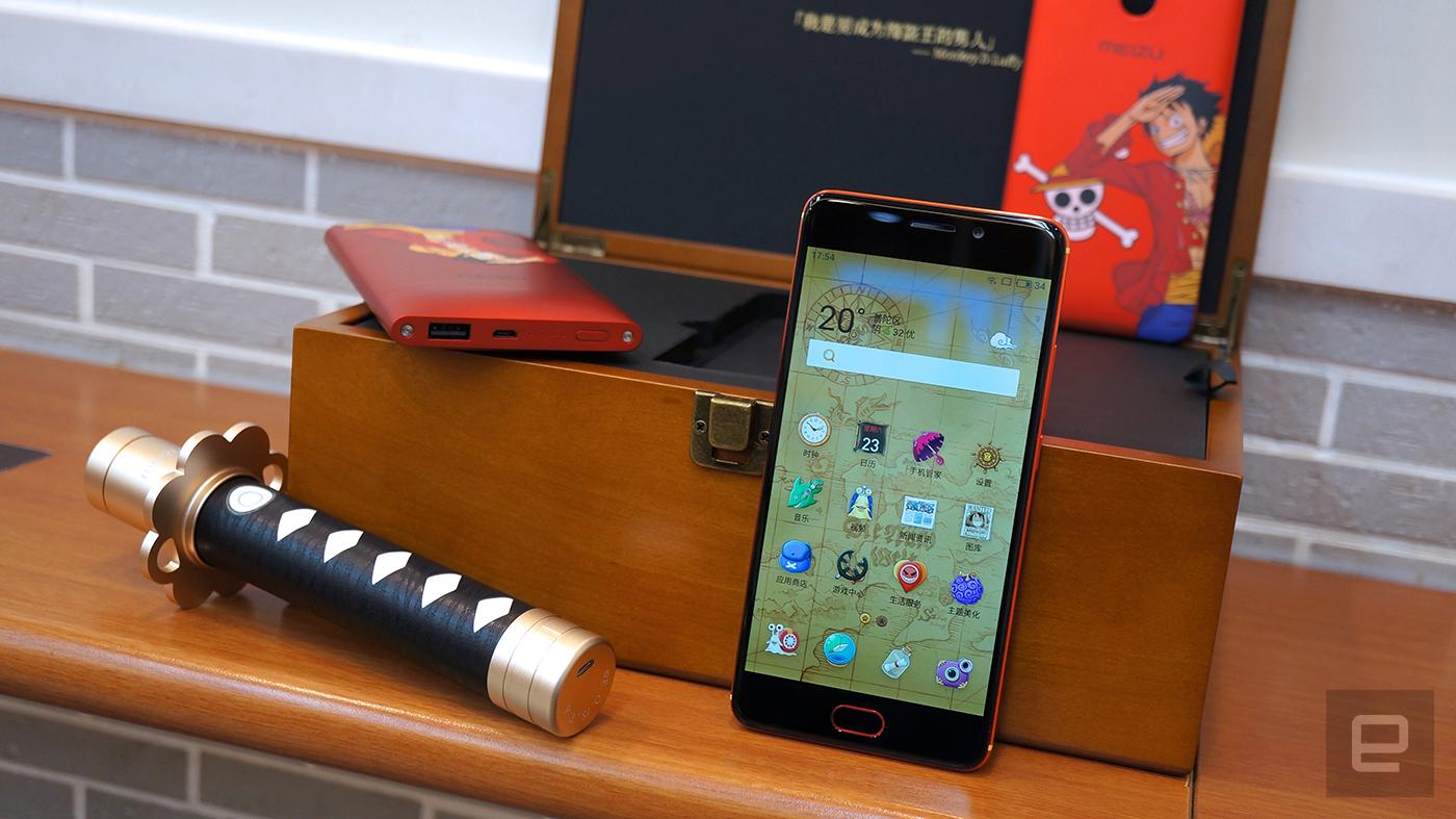 虽然不是电话虫,但这套魅蓝 Note 6 已经很《海贼王》啦