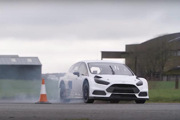 【ビデオ】フォード・パフォーマンスが、ケン・ブロックと「フォーカス RS RX」の初対面&初ドリフト時の映像を公開