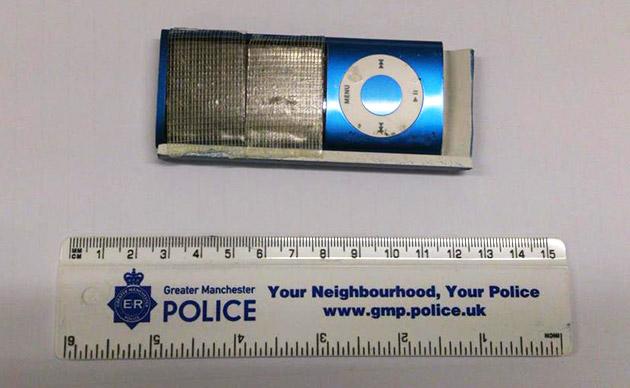 Pillados usando un iPod nano para robar tarjetas de crédito