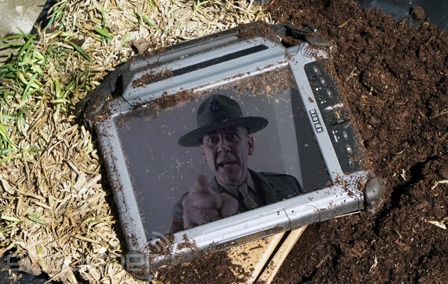 Xplore rugged Windows Tablet