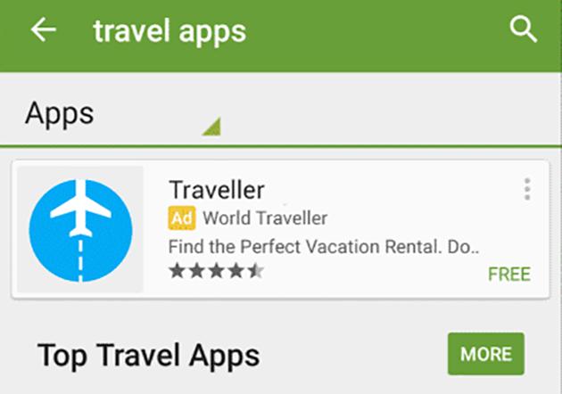 Las aplicaciones patrocinadas llegan a Google Play