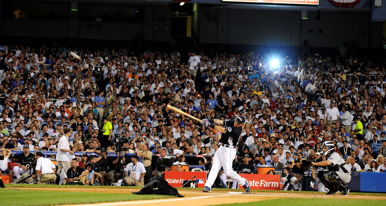 Josh Hamilton in the Home Run Derby., 2008 All-Star Game Hom