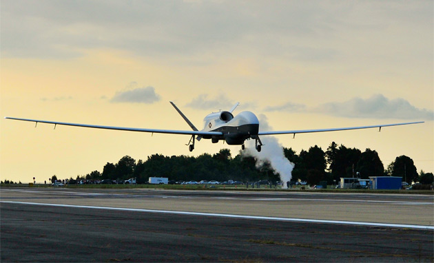 US Navy's Triton UAV completes first cross-country flight