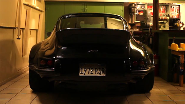 Jack Olsen's 1972 Porsche 911 dubbed Black Beauty.