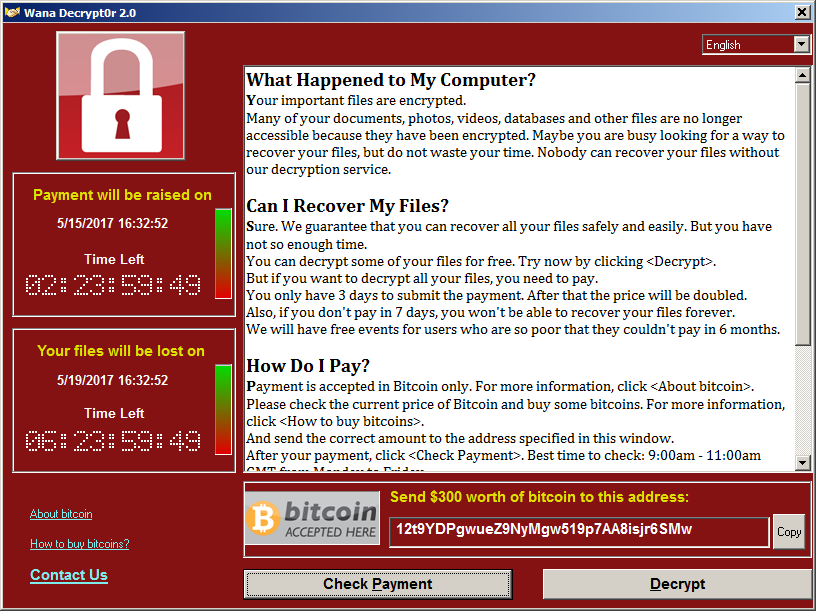 photo image There's an easy fix for WannaCry, if you haven't rebooted yet