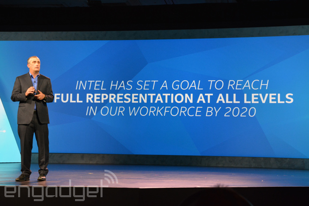 Intel promises to hire more women and minorities