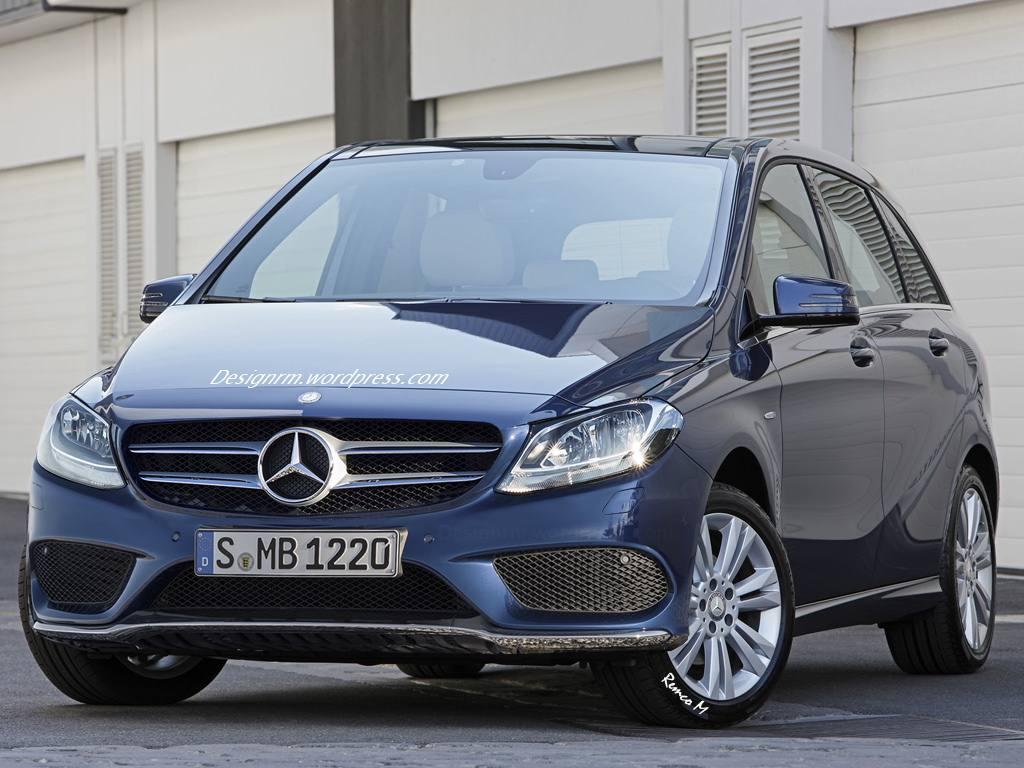 Mercedes-Benz, Auto salon Paris, Pariser Auuto salon, B-Klasse, B-class, Mercedes-Benz B-Klasse, autos von morgen, W246 Mercedes B-Klasse, Mercedes B-Klasse 2015, die neue B-Klasse, Modellpflege, Facelift, mopf, B-Klasse Facelift