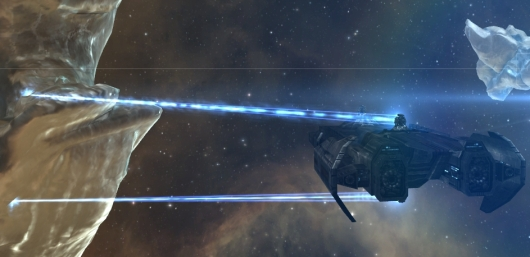 EVE Online player loses $1,500 in a ship attack