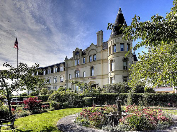 Manresa Castle in Port Townsend, Washington