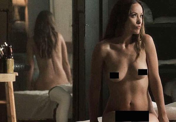 Olivia Wilde nude on Vinyl, olivia wilde naked