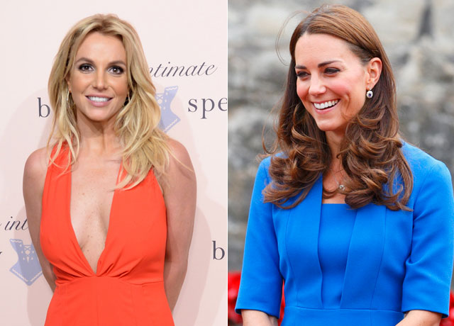 britney spears kate middleton