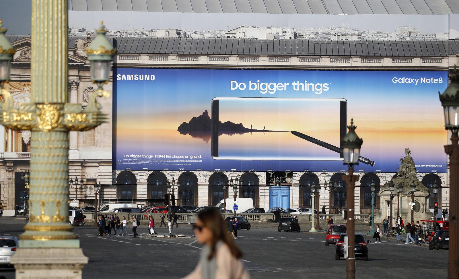 Samsung vuelve a marcarse un récord de beneficios