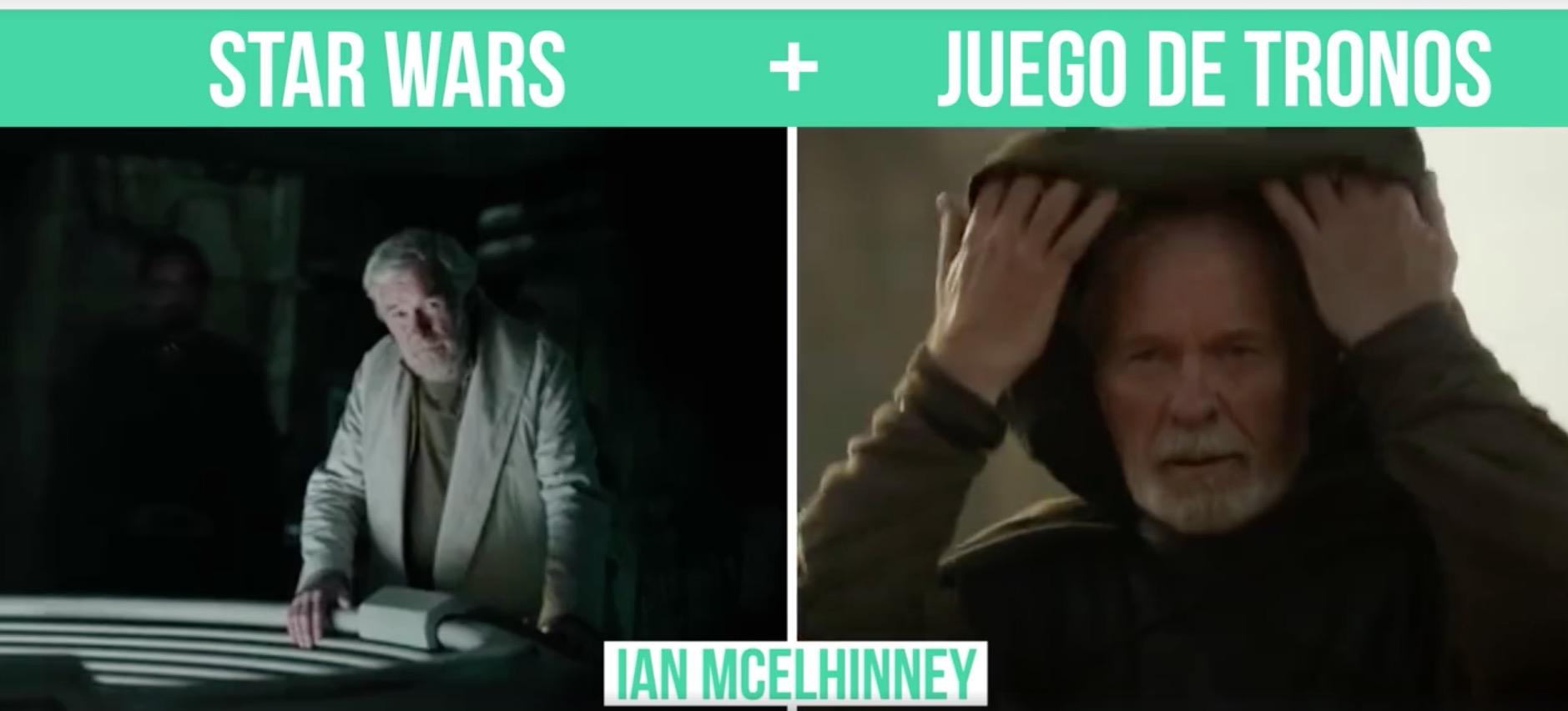 Alucina con todos los actores de Star Wars que salen en Juego de Tronos (o al revés)