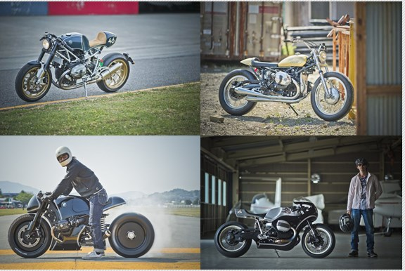 BMW R nine T, BMW Motorrad, BMW R Nine T, Cafe racer, Customizer, Customizing, Bike, Biker,  BMW Motorrad Days Japan