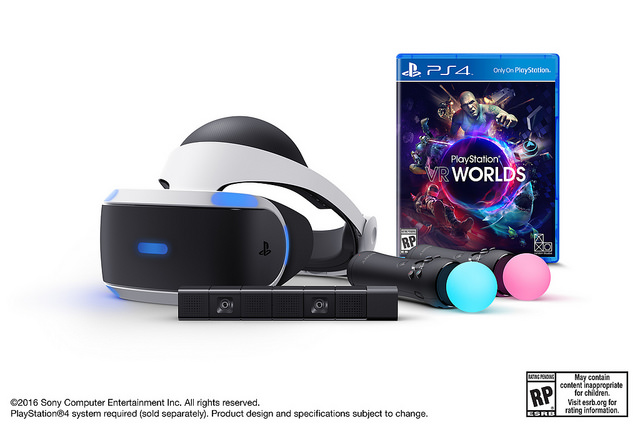 PlayStation VR bundle includes camera and controllers for $500