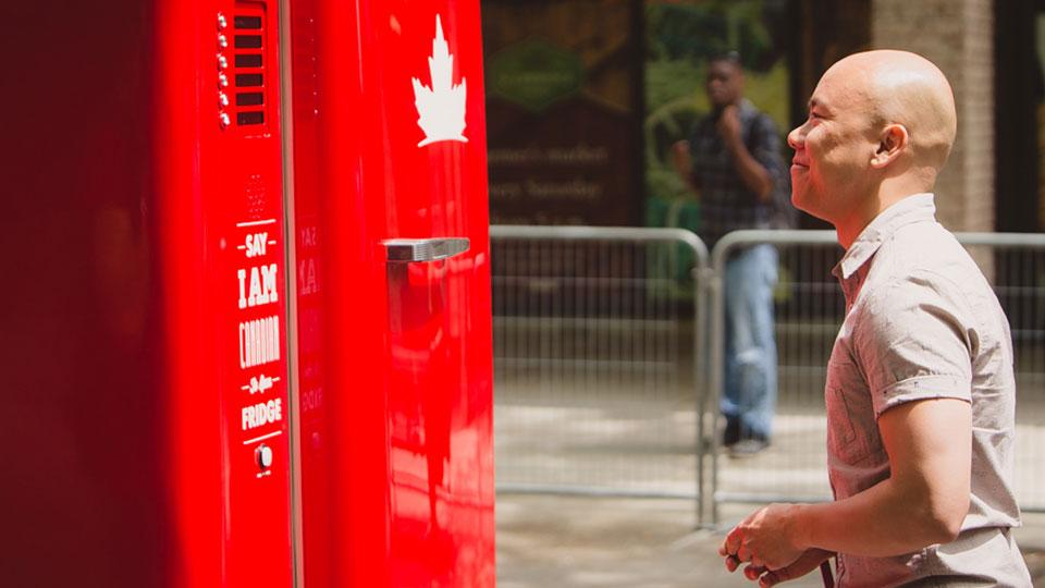 Google-powered beer fridge translates thirst in 40 languages