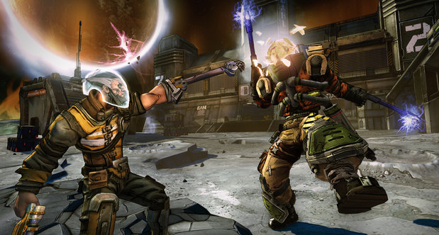 Borderlands: The Pre-Sequel in action