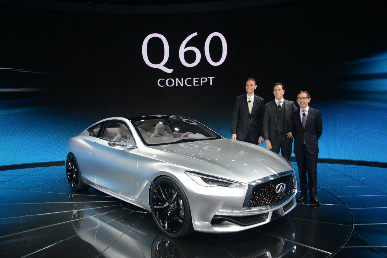 Debüt in detroit: Infiniti Q60 concept