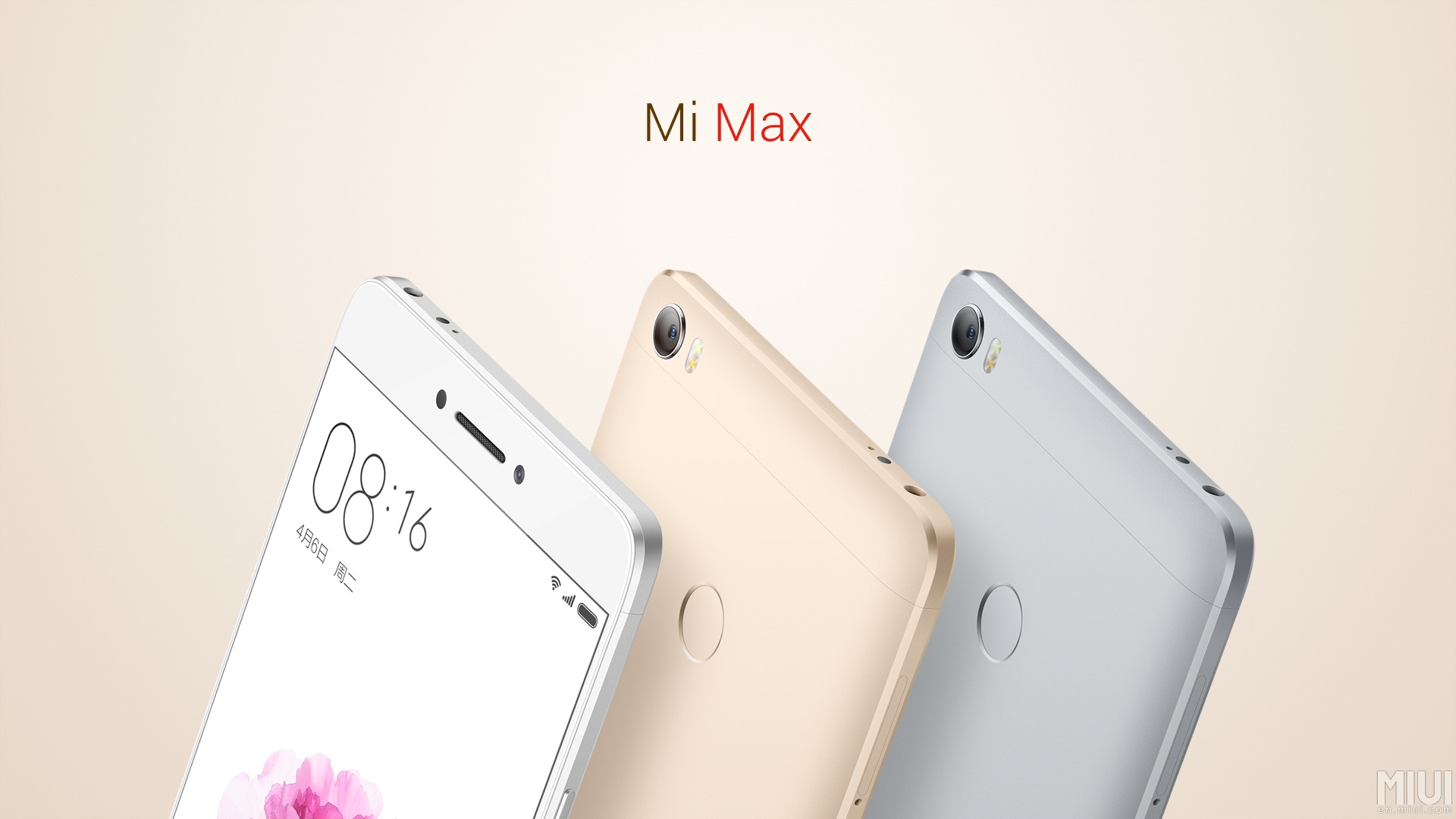 Prepárate para el anuncio del Xiaomi Mi Max 2 el 25 de mayo