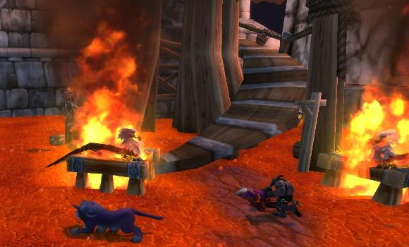 Flaming Gryhopns