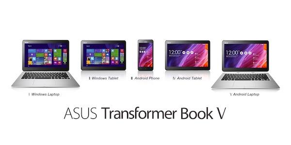 ASUS Transformer Book V: Portátil Windows y teléfono Android en uno