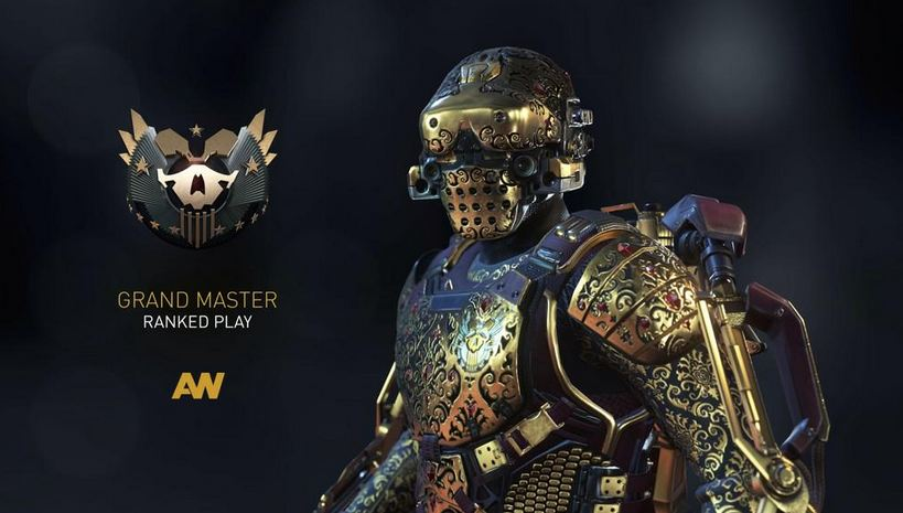 Check out this extremely rare armor in Call of Duty: Advanced Warfare!