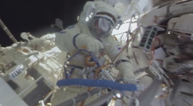 Video: Erster 360-Grad Spacewalk auf der ISS