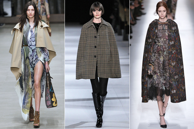 catwalk, capes