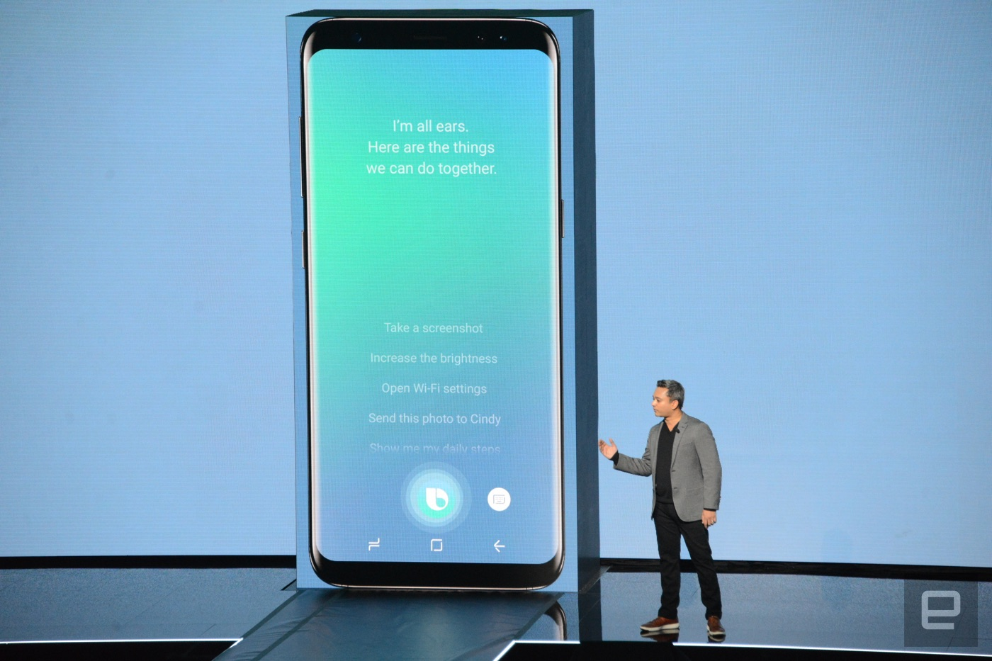 Samsung's Bixby AI assistant can see as well as talk ...