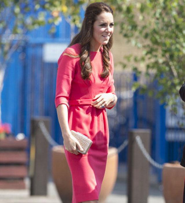 Duchess of Cambridge visits schoolchildren