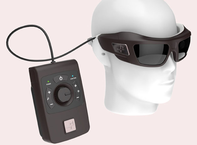 Infrared implant brings practical sight to the blind