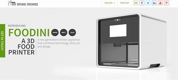 「料理を出力できる3Dプリンター」が来年発売予定!世界中から驚きの声