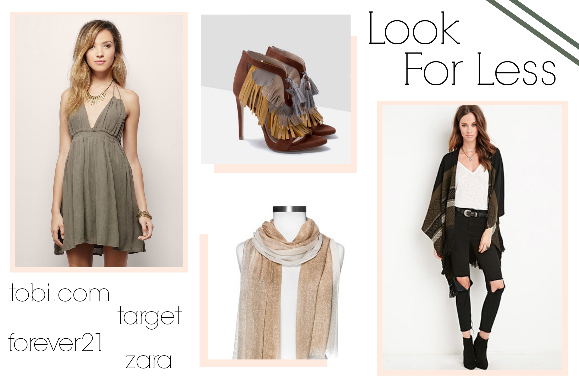 look for less, bohemian, rachel zoe